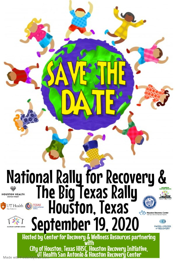 National Recovery Month Hub Event 2020 - Save the Date